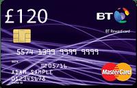 BT Broadband and TV Bundle Mastercard Offer