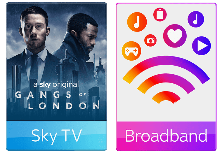 Sky TV and Broadband £42 per month for superfast fibre